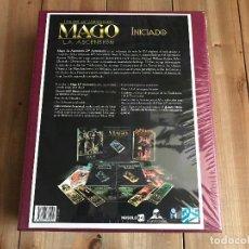 Juegos Antiguos: MAGO 20 ANIVERSARIO - CAJA MECENAZGO INICIADO - ROL - NOSOLOROL - PRECINTADA - M20. Lote 142434146
