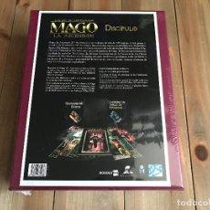 Juegos Antiguos: MAGO 20 ANIVERSARIO - CAJA MECENAZGO DISCIPULO - ROL - NOSOLOROL - PRECINTADA - M20. Lote 127926571
