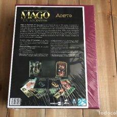 Juegos Antiguos: MAGO 20 ANIVERSARIO - CAJA MECENAZGO ADEPTO - ROL - NOSOLOROL - PRECINTADA - M20. Lote 127926719