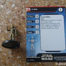 Juegos Antiguos: FIGURA STAR WARS. C-3PO. 2/60. REBEL STORM. NUEVA. Lote 128127187