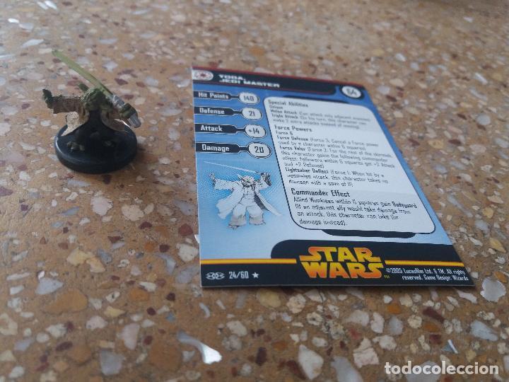 Juegos Antiguos: FIGURA STAR WARS. YODA. JEDI MASTER. 24/60. REVENGE OF THE SITH. NUEVA - Foto 2 - 128127979