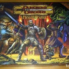 Juegos Antiguos: DUNGEONS AND DRAGONS LA AVENTURA FANTÁSTICA + EXTENSIÓN INVIERNO ETERNO SIN DESTROQUELAR ROL PARKER. Lote 129152551