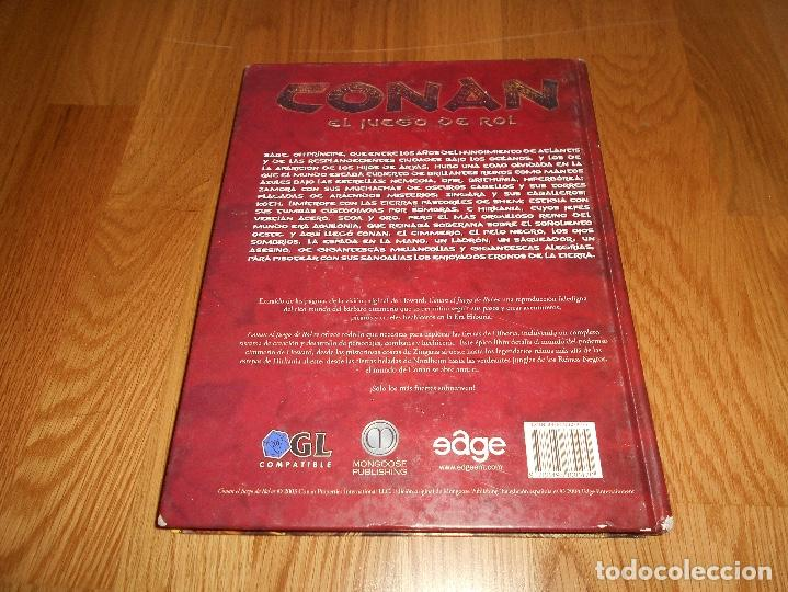 Juegos Antiguos: CONAN EL JUEGO DE ROL EDICION ATLANTEA EN TAPA DURA MANUAL - Foto 6 - 129266367
