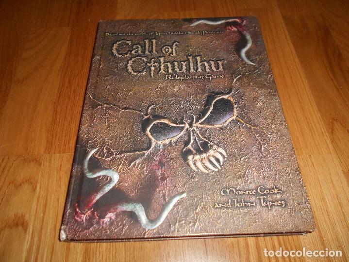 LA LLAMADA DE CALL OF CTHULHU ROLE PLAYING GAME CORE RULEBOOK FIRST PRINTING 2002 EL INGLES ROL (Juguetes - Rol y Estrategia - Juegos de Rol)
