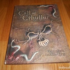 Juegos Antiguos: LA LLAMADA DE CALL OF CTHULHU ROLE PLAYING GAME CORE RULEBOOK FIRST PRINTING 2002 EL INGLES ROL. Lote 129293515