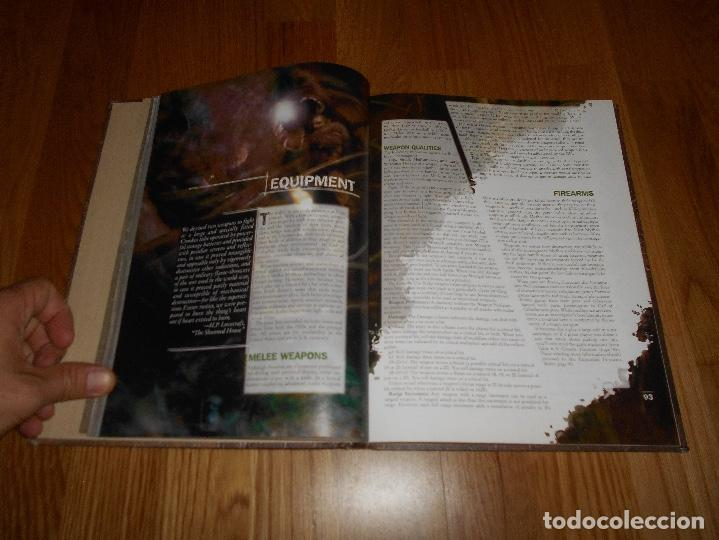 Juegos Antiguos: LA LLAMADA DE Call of Cthulhu Role Playing Game Core Rulebook First Printing 2002 EL INGLES ROL - Foto 3 - 129293515