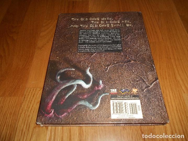 Juegos Antiguos: LA LLAMADA DE Call of Cthulhu Role Playing Game Core Rulebook First Printing 2002 EL INGLES ROL - Foto 5 - 129293515