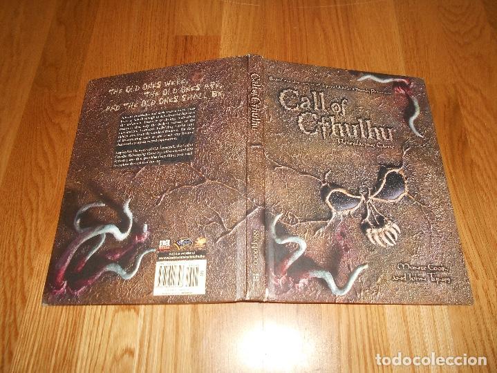 Juegos Antiguos: LA LLAMADA DE Call of Cthulhu Role Playing Game Core Rulebook First Printing 2002 EL INGLES ROL - Foto 6 - 129293515