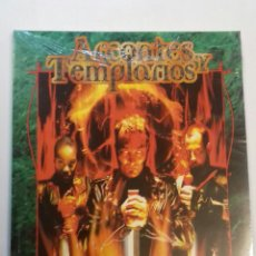 Juegos Antiguos: ARCONTES Y TEMPLARIOS SUPLEMENTO DE ROL PARA VAMPIRO DE LA FACTORIA DE IDEAS , NUEVO Y PRECINTADO.. Lote 129689991