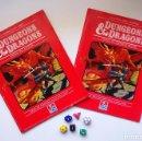 Juegos Antiguos: DUNGEONS & DRAGONS CAJA ROJA DALMAU ORIGINAL PRIMERA EDICIÓN 1985. Lote 129704439
