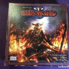Juegos Antiguos: JUEGO DE MESA DE VIKINGOS MIDGARD DE Z-MAN GAMES. Lote 130184707