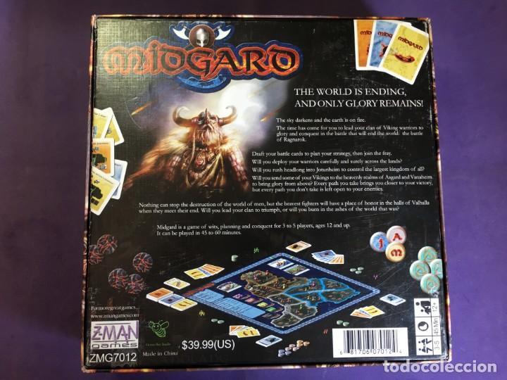 Juego De Mesa De Vikingos Midgard De Z Man Game Comprar Juegos De