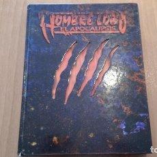 Juegos Antiguos: HOMBRE LOBO APOCALIPSIS - MUNDO DE TINIEBLAS - HOMBRE LOBO EL EXILIO - VAMPIRO MASCARADA - ROL. Lote 130323446