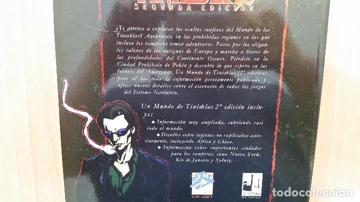 Juegos Antiguos: Mundo de Tinieblas - Vampiro Mascarada - Hombre Lobo Apocalipsis - Mago Ascensión - ROL - Foto 4 - 130325506