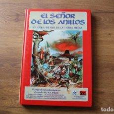 Juegos Antiguos: EL SEÑOR DE LOS ANILLOS, JUEGO ROL JOC INTERNACIONAL TOLKIEN TIERRA MEDIA. Lote 92777415