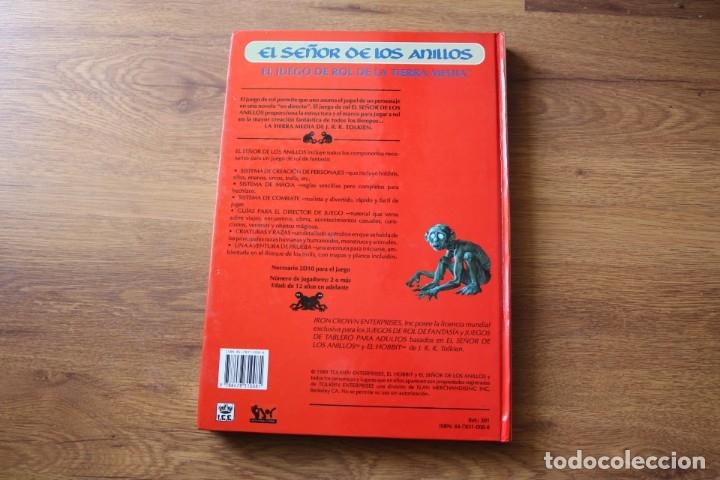 Juegos Antiguos: El Señor de los Anillos, juego rol Joc Internacional Tolkien Tierra Media - Foto 2 - 92777415