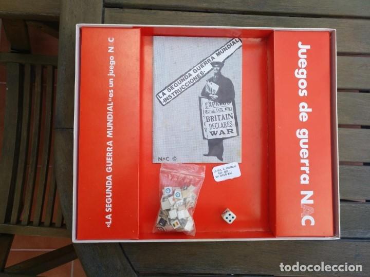 Juegos Antiguos: LA SEGUNDA GUERRA MUNDIAL NAC. JUEGO DE ESTRATEGIA EN PERFECTO ESTADO - Foto 2 - 130408230