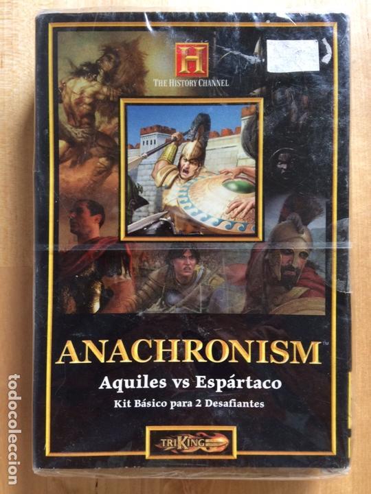 ANACHRONISM - KIT BÁSICO PARA 2 JUGADORES (AQUILES VS SPARTACO) (Juguetes - Rol y Estrategia - Otros)