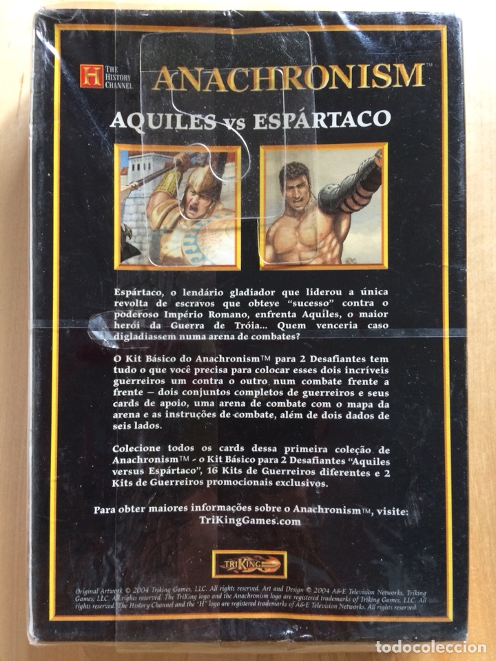 Juegos Antiguos: Anachronism - Kit básico para 2 jugadores (Aquiles Vs Spartaco) - Foto 2 - 130626034