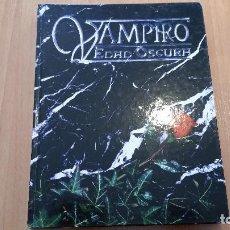 Juegos Antiguos: VAMPIRO EDAD OSCURA - MUNDO DE TINIEBLAS - VAMPIRO MASCARADA - HOMBRE LOBO - EDAD OSCURA - ROL. Lote 130690799