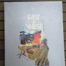 Juegos Antiguos: EAST & WEST. MARCA SIMULATION GAMES. Lote 130706974