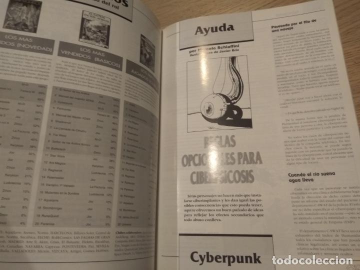 Juegos Antiguos: DOSDEDIEZ. REVISTA BIMESTRAL DE JUEGOS DE ROL. 6. 1993. LA FACTORIA - Foto 2 - 131013616