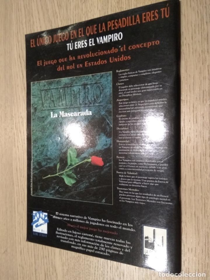 Juegos Antiguos: DOSDEDIEZ. REVISTA BIMESTRAL DE JUEGOS DE ROL. 6. 1993. LA FACTORIA - Foto 3 - 131013616