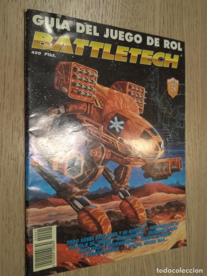 BATTLETECH. GUIA DEL JUEGO DE ROL. 1994 (Juguetes - Rol y Estrategia - Juegos de Rol)