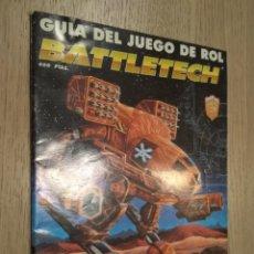 Juegos Antiguos: BATTLETECH. GUIA DEL JUEGO DE ROL. 1994. Lote 131013792