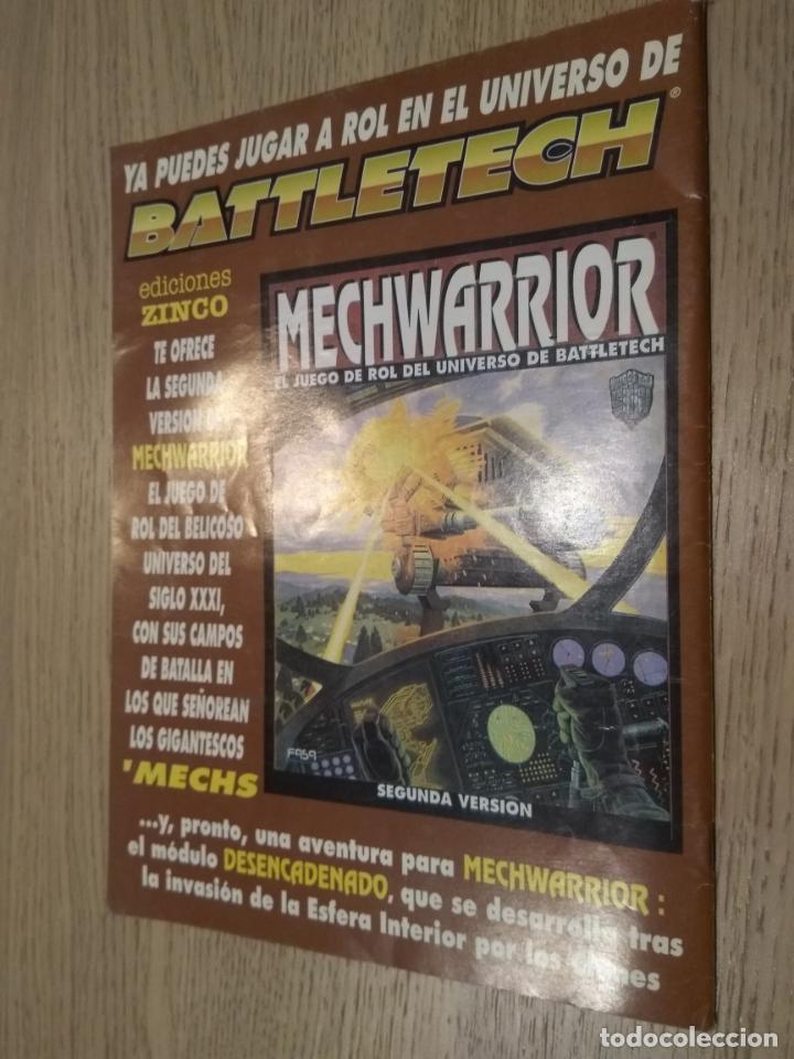 Juegos Antiguos: BATTLETECH. GUIA DEL JUEGO DE ROL. 1994 - Foto 3 - 131013792