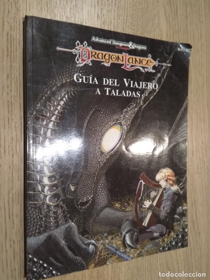 DRAGON LANCE. GUIA DEL VIAJERO A TALADAS. TIEMPO DEL DRAGON. 1993 (Juguetes - Rol y Estrategia - Juegos de Rol)