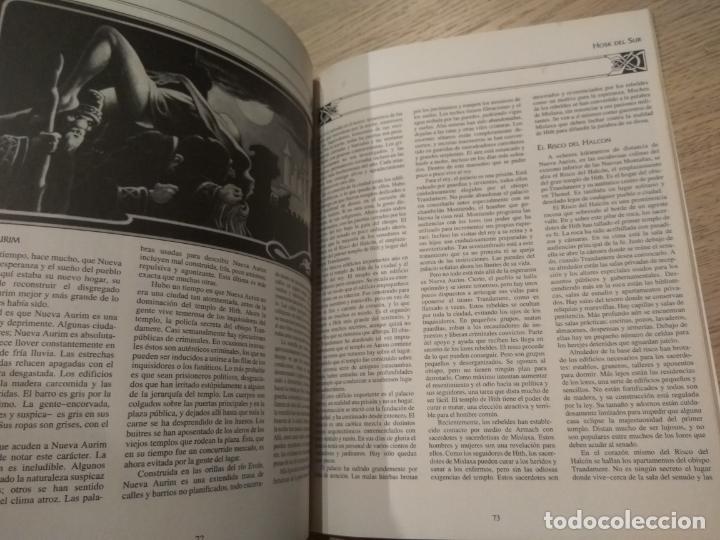 Juegos Antiguos: DRAGON LANCE. GUIA DEL VIAJERO A TALADAS. TIEMPO DEL DRAGON. 1993 - Foto 2 - 131013964