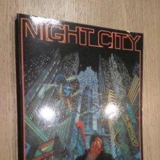 Juegos Antiguos: NIGHT CITY. GUIA URBANA PARA CYBERPUNK. M+D. 1994. Lote 131014272