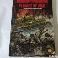 Juegos Antiguos: FLAMES OF WAR- EL JUEGO DE MINIATURAS 2 GUERRA MUNDIAL -ESPAÑOL . Lote 131198412