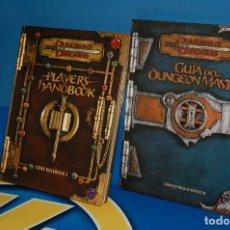 Juegos Antiguos: JUEGO DE ROL-GUIA DEL DUNGEON MASTER DUNGEONS & DRAGONS-REGLAS BASICAS I Y II. Lote 131220500