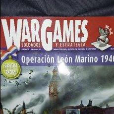 Juegos Antiguos: WARGAMES, SOLDADOS Y ESTRATEGIA Nº 47. OPERACION LEON MARINO. Lote 131252535