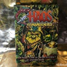 Juegos Antiguos: JUEGO CHAOS MARAUDERS DE GAMES WORKSHOP . Lote 131280103
