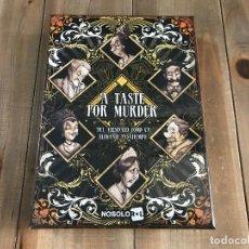 Juegos Antiguos: A TASTE FOR MURDER - JUEGO DE ROL - NOSOLOROL - CONBARBA - PRECINTADO. Lote 131310523