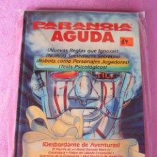 Juegos Antiguos: PARANOIA AGUDA JUEGO DE ROL. Lote 131418774