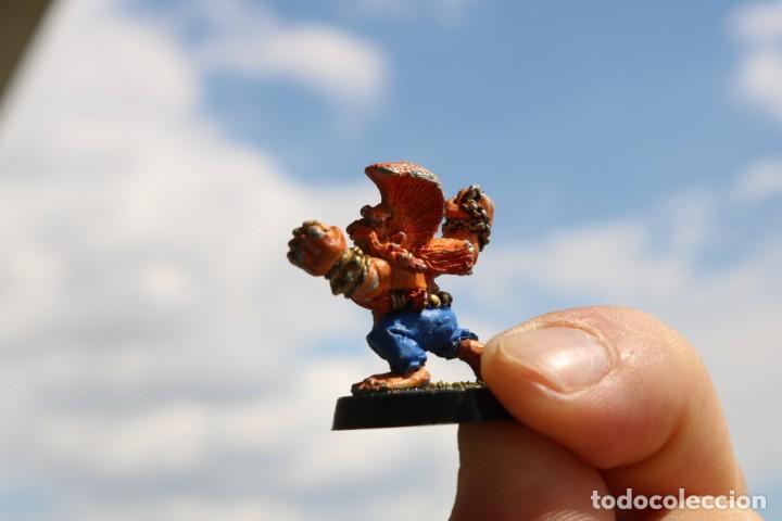 Juegos Antiguos: Blood Bowl miniatura Enano trollslayer metal original pintada matatroll juego mesa - Foto 2 - 131628222