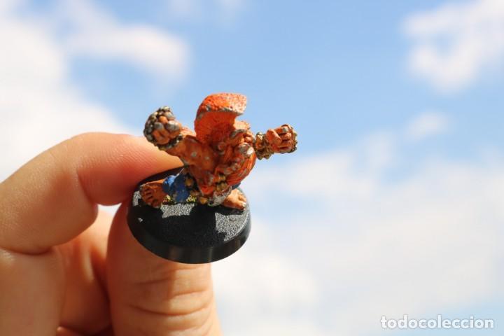 Juegos Antiguos: Blood Bowl miniatura Enano trollslayer metal original pintada matatroll juego mesa - Foto 3 - 131628222