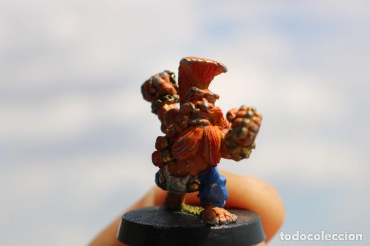 Juegos Antiguos: Blood Bowl miniatura Enano trollslayer metal original pintada matatroll juego mesa - Foto 4 - 131628222