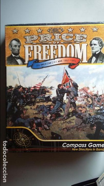 WARGAME THE PRICE OF FREEDOM. COMPASS GAMES (Juguetes - Rol y Estrategia - Otros)