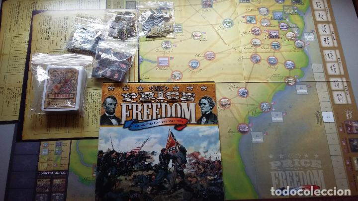 Juegos Antiguos: Wargame The price of Freedom. Compass Games - Foto 2 - 132296490
