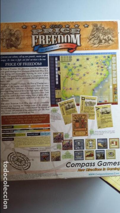 Juegos Antiguos: Wargame The price of Freedom. Compass Games - Foto 3 - 132296490