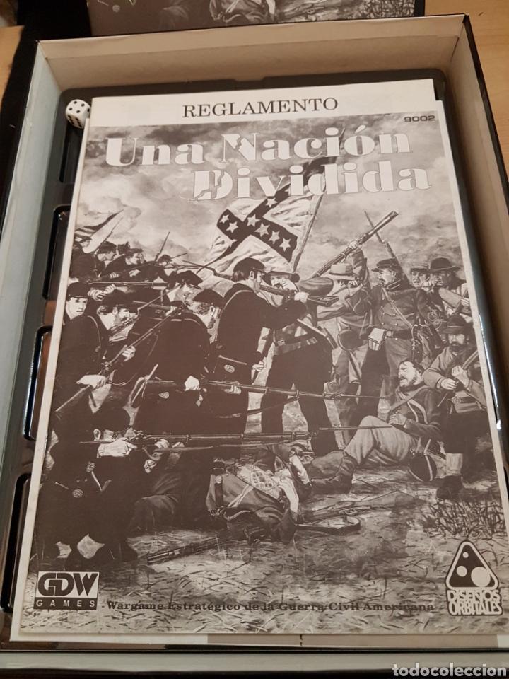 Juegos Antiguos: DISEÑOS ORBITALES WARGAME UNA NACION DIVIDIDA - Foto 6 - 132340986
