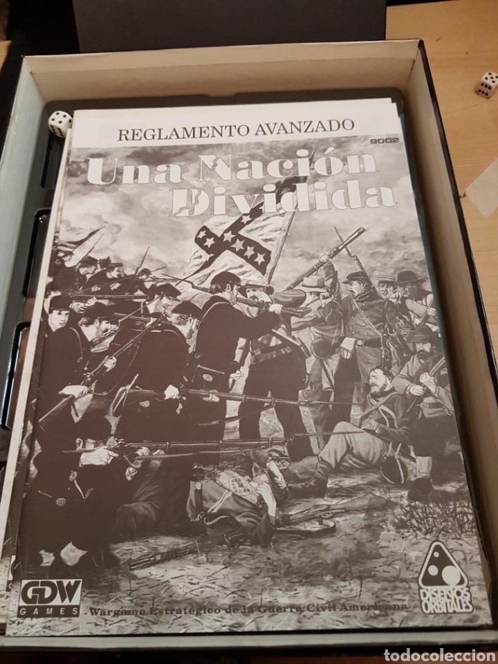 Juegos Antiguos: DISEÑOS ORBITALES WARGAME UNA NACION DIVIDIDA - Foto 7 - 132340986
