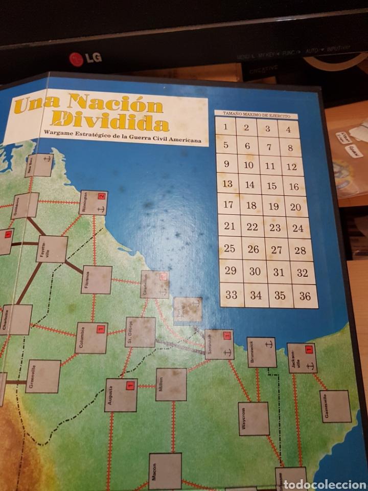 Juegos Antiguos: DISEÑOS ORBITALES WARGAME UNA NACION DIVIDIDA - Foto 8 - 132340986