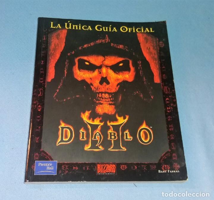 LIBRO LA UNICA GUIA OFICIAL DIABLO II BLIZZARD EN EXCELENTE ESTADO (Juguetes - Rol y Estrategia - Juegos de Rol)