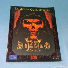 Juegos Antiguos: LIBRO LA UNICA GUIA OFICIAL DIABLO II BLIZZARD EN EXCELENTE ESTADO. Lote 132497210